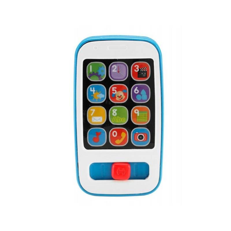 FISHER PRICE - Fisher Price Telefono Smartphone Celeste