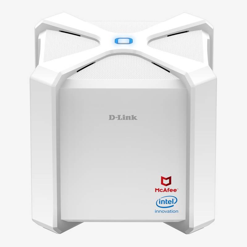 D-LINK - Router Wifi AC 2600 Dual Band Gigabit + Mcafee 2 Años Gratis