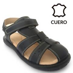 BRUNO KIDS - Sandalia Niño Azul Velcro