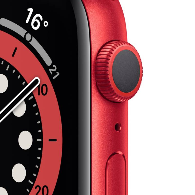 APPLE Apple Watch Series 6 GPS, 44mm PRODUCT(RED) Aluminium Case with  PRODUCT(RED) Sport Band - Falabella.com