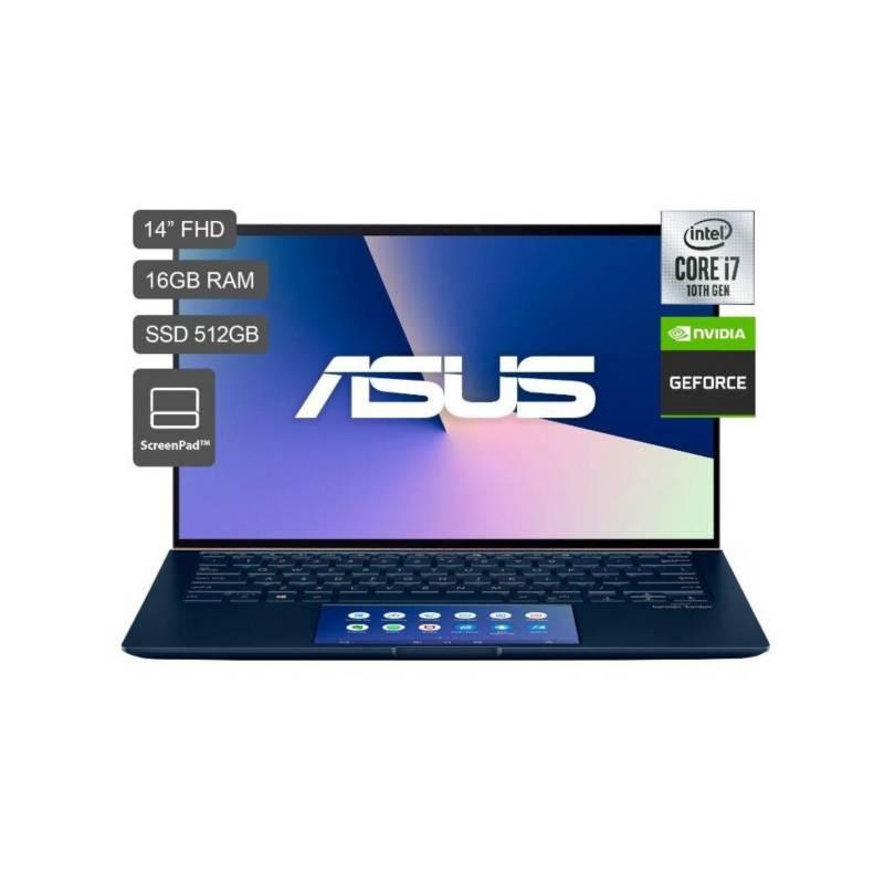 ASUS - ZenBook Core I7 16GB SSD512GB 2GB nvidia