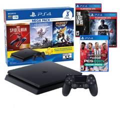 SONY - Consola PlayStation 4 Mega Pack 15 + 3 Juegos