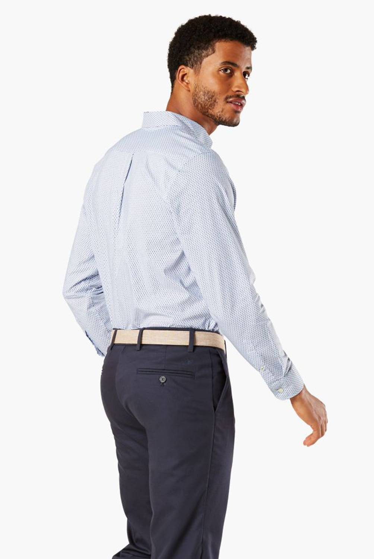 DOCKERS - Camisa Manga Larga Hombre