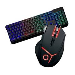 NIBIO - Combo Mouse Gear + Teclado Strike