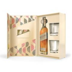 JOHNNIE WALKER - Johnnie Walker Gold Label + 2 Vasos