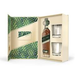 JOHNNIE WALKER - Johnnie Walker Green Label 750ml + 2 Vasos