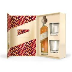 JOHNNIE WALKER - Johnnie Walker Aged 18YO 750ml + 2 Vasos