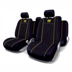 OMP - Set Fundas Cubre Asiento Auto Amarillo