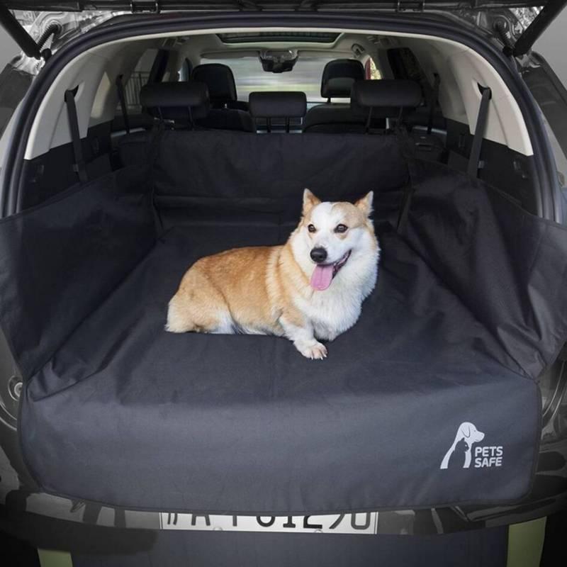 PETS SAFE - Funda Forro Protector De Maletero Auto Para Perro Mascota Negro