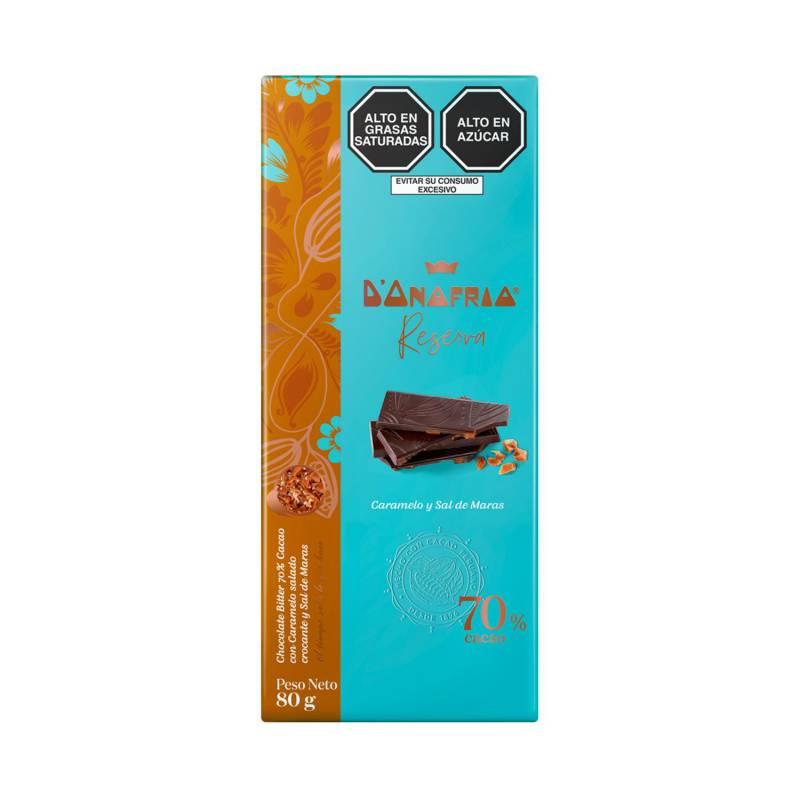 DONOFRIO - Tableta 70% Cacao con Caramelo y Sal de Maras