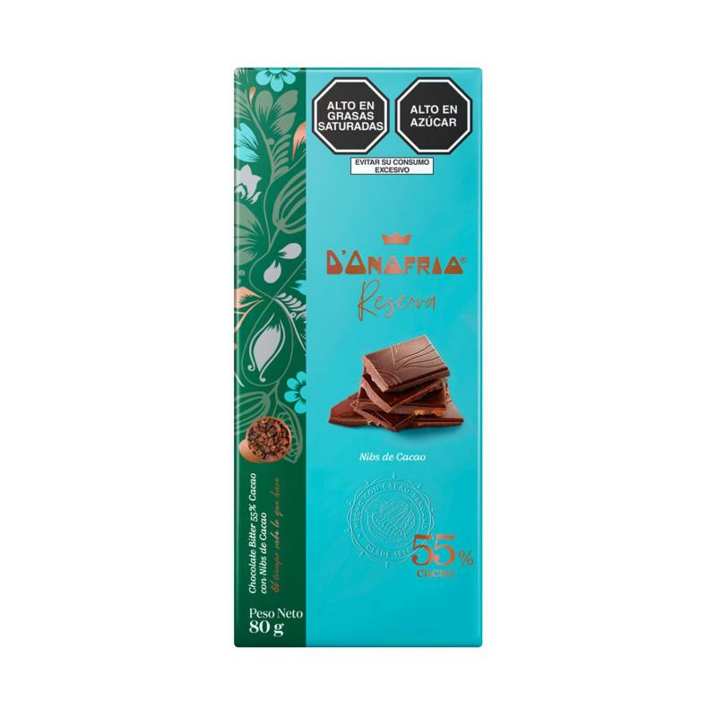 DONOFRIO - Tableta 55% Cacao con nibs