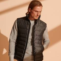 Superdry - Chaleco Hombre