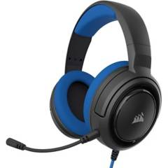 CORSAIR - Audifonos Gamer  HS35 PC PS4 Azul