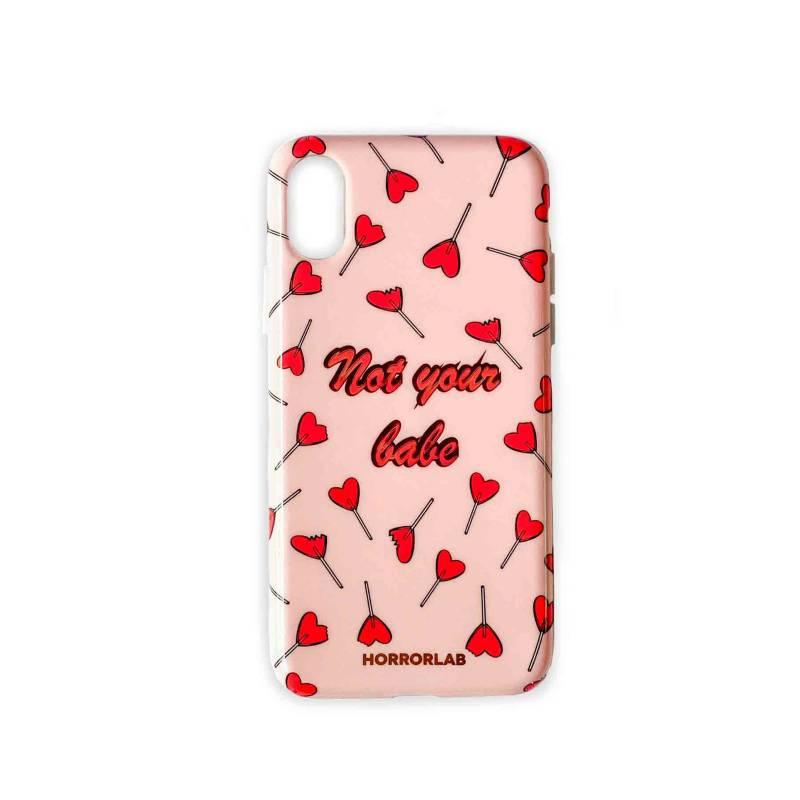 HORRORLAB - Case Funda not babe iPhone XR