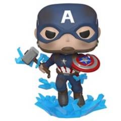 FUNKO - Pop Avengers Capitán América Escudo Roto