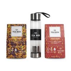 Tea Box Experience - Pack Termo Infusor con Dos Cajas de Té