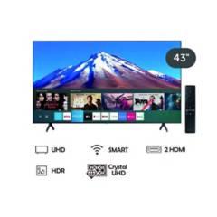 SAMSUNG - Televisor Smart tv de 43'' uhd 4k Crystal 2020