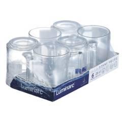 LUMINARC - Juego de Tazas x 6 Piezas 250 ml
