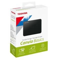 TOSHIBA - Disco Duro 1 Tb Canvio Basics