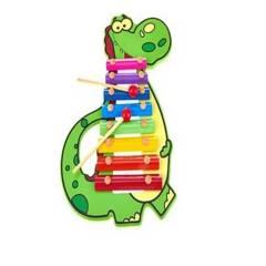 GENERICO - Juego Didáctico Xilófono Dinosaurio 891-66