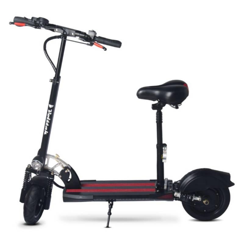 VOLTTAK - Scooter Patineta Eléctrica Luces LED