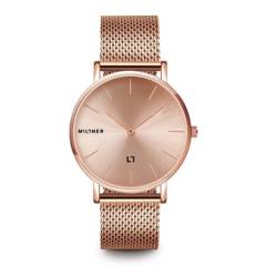MILLNER - Reloj MILLNER Mayfair S · Pink Acero Mujer