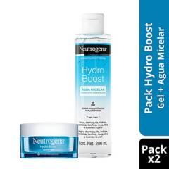 NEUTROGENA - Hydro Boost Water Gel Día + Agua micelar