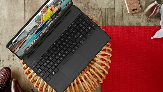 Laptop HP15-dw1085la con rendimiento confiable