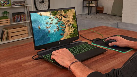 Laptop Pavilion Gaming  15-dk1031la con gráficos NVIDIA GTX