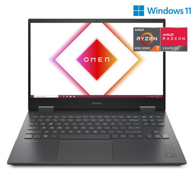 "HP - Laptop HP OMEN 15-en0002la AMD Ryzen7 4800H 16GB 512GB SSD 15.6"" RTX 2060"