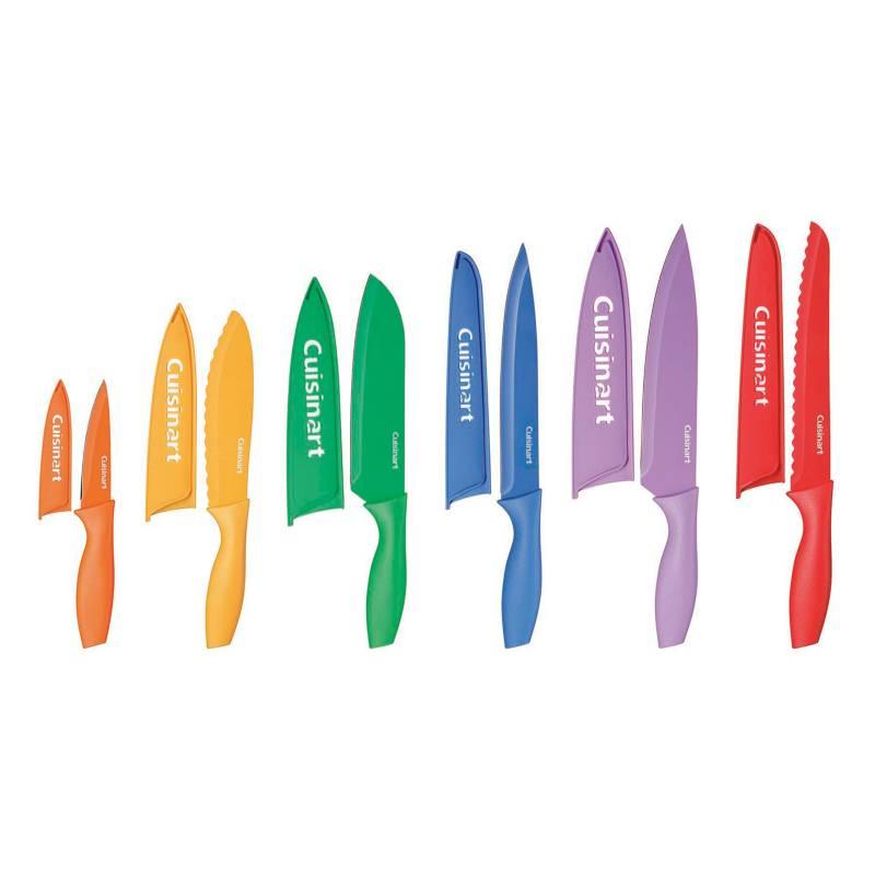 CUISINART - Juego de cuchillos con funda 6 Piezas