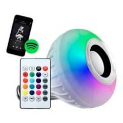 SM - Foco Led con Parlante Bluetooth