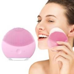 GENERICO - Limpiador Facial de Silicona Recargable USB