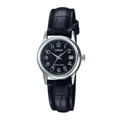 CASIO - Reloj Casio LTP-V002L-1B Acero Mujer Plateado