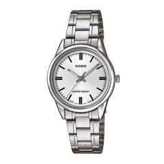 CASIO - Reloj Casio LTP-V005D-7A Acero Mujer Plateado