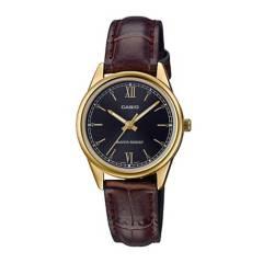 CASIO - Reloj Casio LTP-V005GL-1B2 Acero Mujer Dorado