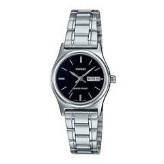 CASIO - Reloj Casio LTP-V006D-1B2 Acero Mujer Plateado