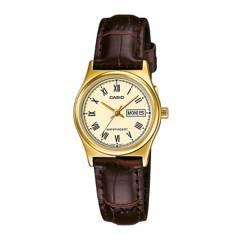 CASIO - Reloj Casio LTP-V006GL-9B Acero Mujer Dorado