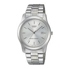 CASIO - Reloj Casio MTP-1141A-7A Acero Hombre Plateado