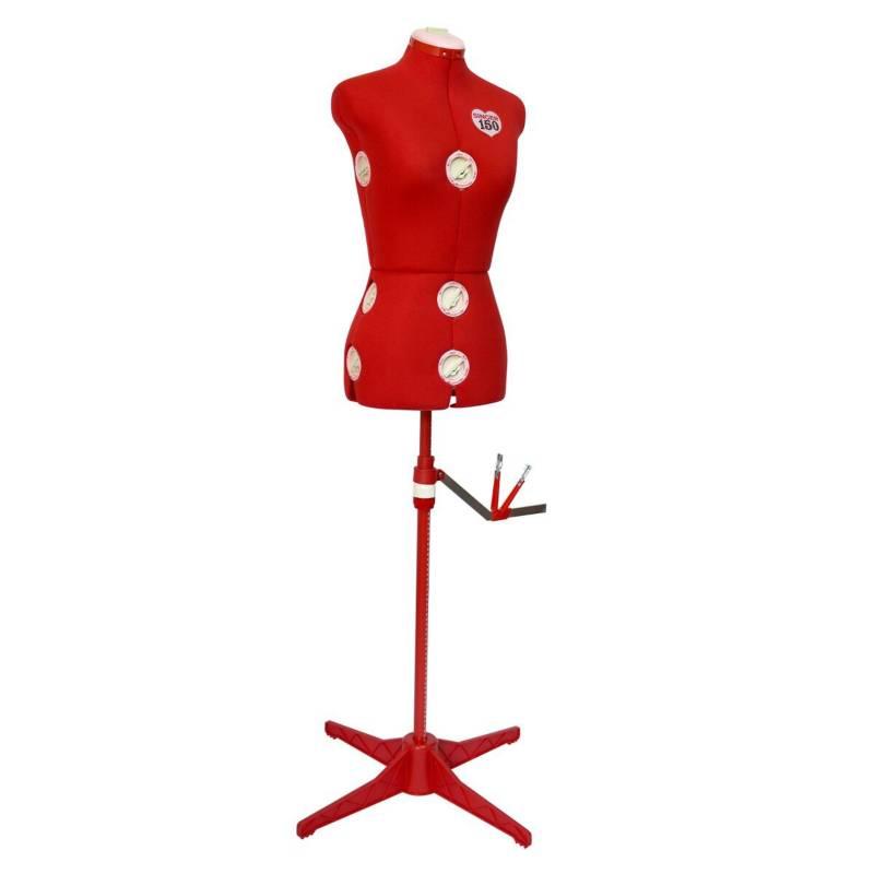 Singer - Maniquí Ajustable Rojo