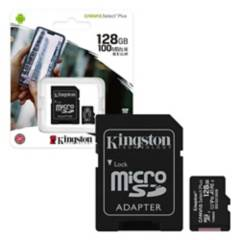 KINGSTON - Memoria micro sd 128gb clase 10