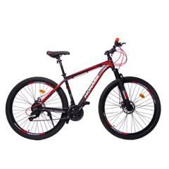 """Monark - Bicicleta Monark Epic Aro 29"""" Negro Rojo"""