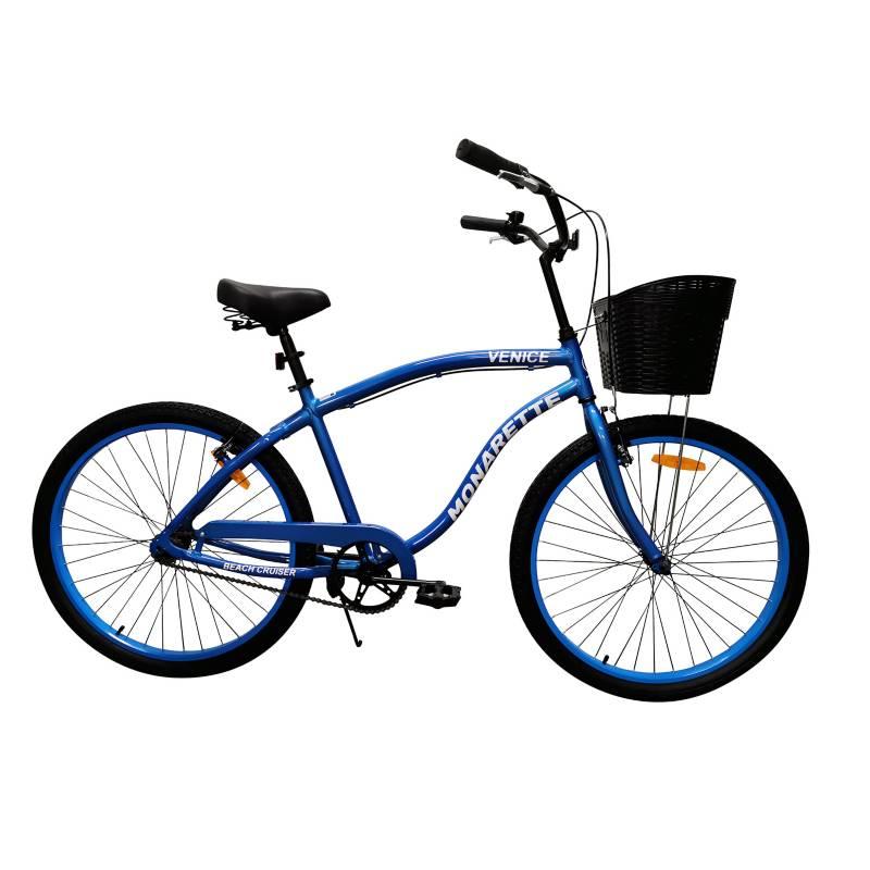 """MONARETTE - Bicicleta Monarette Venice Aro 26"""" Azul"""