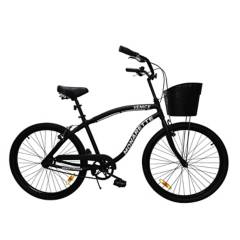 """MONARETTE - Bicicleta Monarette Venice Aro 26"""" Negro"""