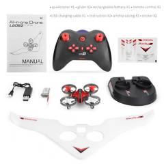 LISHITOYS - Drone Deportivo 3 en 1 Control Remoto