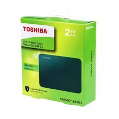 TOSHIBA - Dico duro Externo 2 Teras TB Canvio Basic