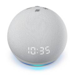 AMAZON - Parlante Inteligente Echo Dot 4ta Gen con Reloj