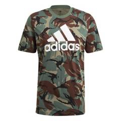 Adidas - Polo Casual Hombre Essentials Camouflage