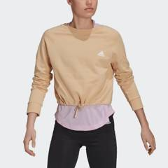 Adidas - Polera Mujer Casual Essentials Cropped