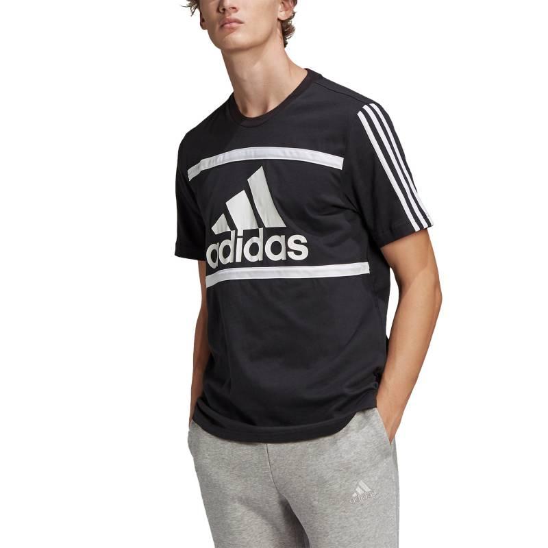 Adidas - Polo Casual Hombre Essentials Logo Colorblock
